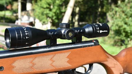 Paired with the Stingray the Nikko scope worked well