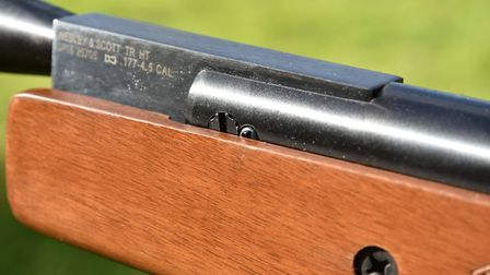 The barrel pivot bolt is adjustable and has a loking screw for peace of mind