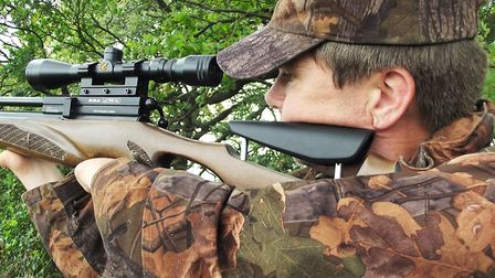 The Ultra XL shouldered perfectly for quick, confident aiming