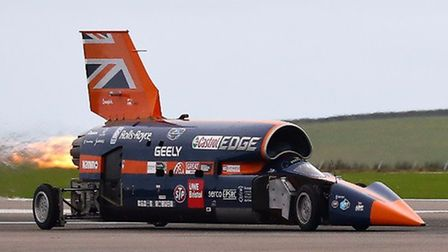 BLOODHOUND will be looking to go 500mph in South Africa in 2018