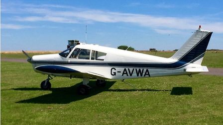 A 1/18 share is available for this PA28-140 Cherokee
