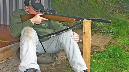 Resting on a post, but with the hand as a buffer, shooting a springer was the most accurate of all