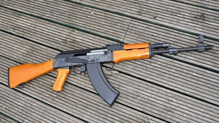 CO2 covers the fun side of airguns, and replicas are part of that