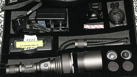 The f900 has everything you need in one neat carying case