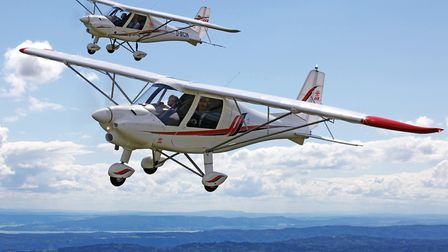 The highly regarded Ikarus C42 is popular with clubs offering microlight flight training