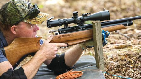 Shooting from the shoulder is popular amongst hunters