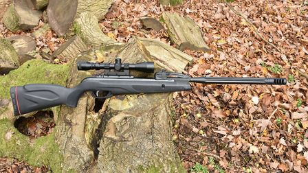A tactical stock adds handsome good looks to this innovative rifle