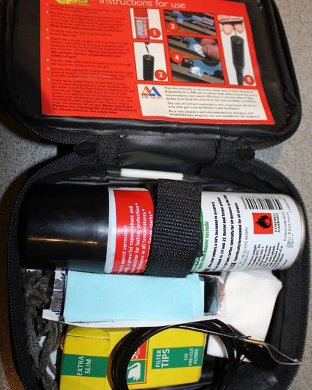A proper barrel cleaning kit is a 'must have'