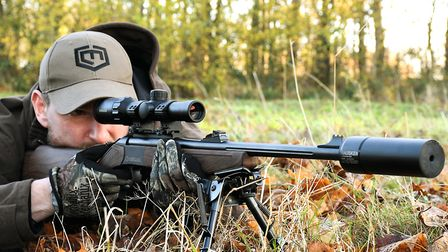 2.Bergara BA-13 in 243 Winchester with Kahles and Hausken were very capable to shoot accurately from