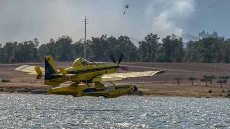 Aerial Firefighting in Portugal