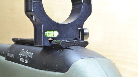Can you see how this Picatinny ring doese't sit fully into the recoil stops of a non-Pic rail