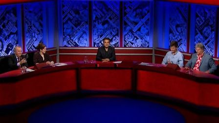 This episode of Have I Got News For You received 140 complaints. Photograph: BBC.