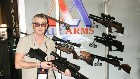 The fantastic new Air Arms Ultimate Spoter XS with its soft-touch stock...