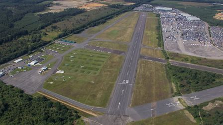 Blackbushe is blessed with a long runway and plenty of space for aircraft parking PHOTO: BLACKBUSHE