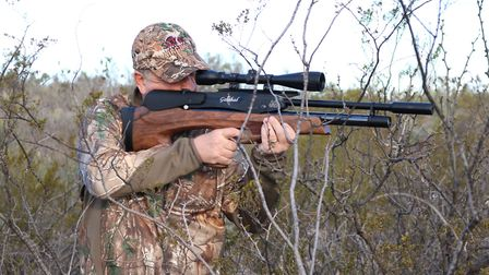 Every hunter should hone their offhand shooting sometimes it is the only option