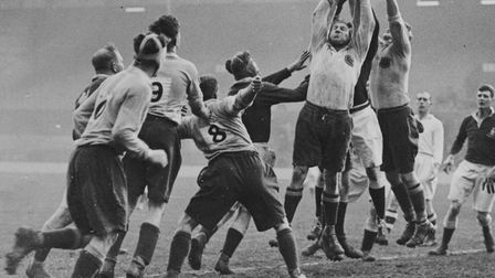 RAF team in action during 1933