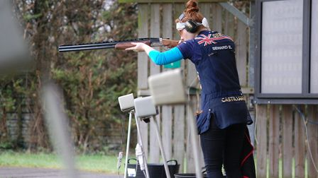 Hard work and lots of training - often at Brook Bank Shooting ground - is the key to Ellie's success