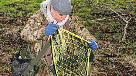 Purse nets are extremely effective when ferreting, and theyre really easy to set out, too