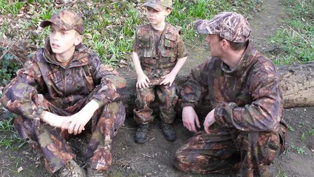 Some memories are irreplaceable, like teaching my sons about nature in the woods. Chris is now 20, a