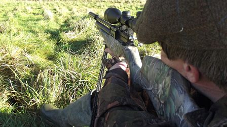 Real world hunting conditions for me means seated, freehand off my knee