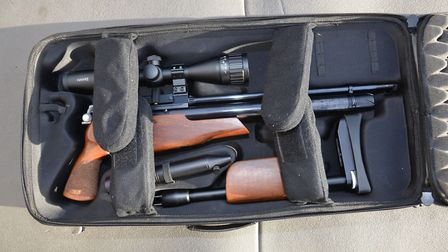 The Air Arms TDR is a brilliant 'take-down' hunting rifle
