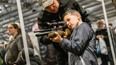 Airgunners of all ages will find plenty to see and do at this year's show.