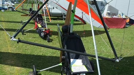 Eurofly Snake SSDR flexwing yours for 10,961, including five hours' flight training! PHOTO: PHILIP