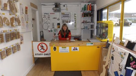 There's always a friendly welcome at Custom Targets - not to mention a great range of products and s