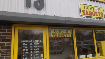Lucky 13 for the customers of Custom Targets.