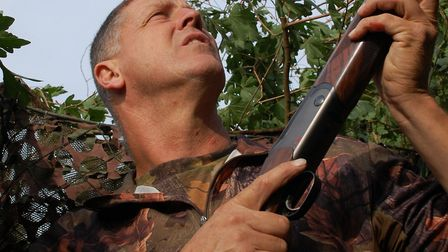Andy Crow has forgotten more about pigeon shooting than most will learn in a lifetime