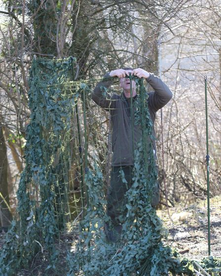Building an effective pigeon hide is sure to up your game and get more in the bag