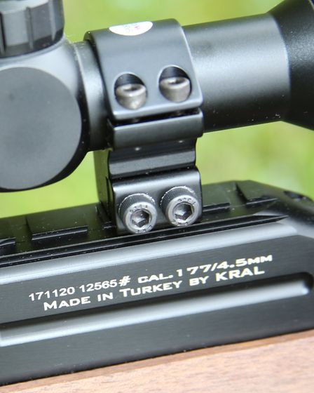 Kral provides the option of 11mm and Picatinny rails.