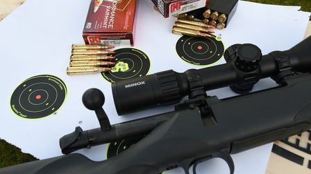 21. All 243-ammunition performed reliably without doubt about the rifle throughout initial trials an