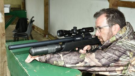 Just a small nuge of recoil and a crack from the muzzle and the shot's on its way