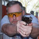 A pistol that not only has the cool factor, but it shoots, as well. It can talk the talk and walk th