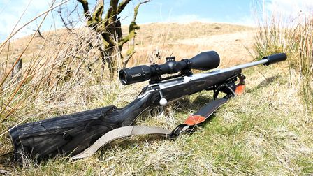 1.Steiner Ranger 4-16x56 BT Riflescope with 4A-I Reticle in use on a Sauer 101 in 308 Winchester wit