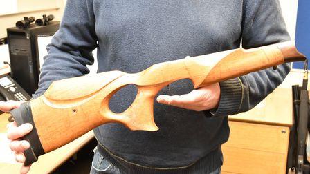 Believe it or not this is 3D printed stock!