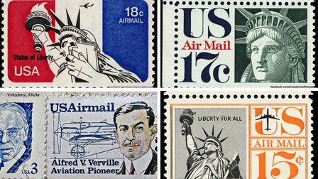 Previous Air Mail stamps