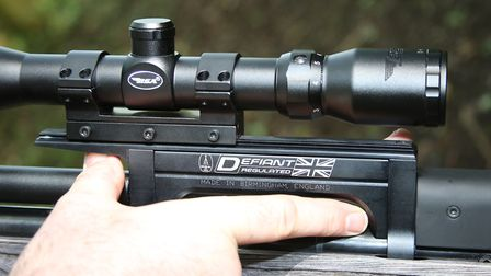 Plenty of latitude to perfectly place your scope.