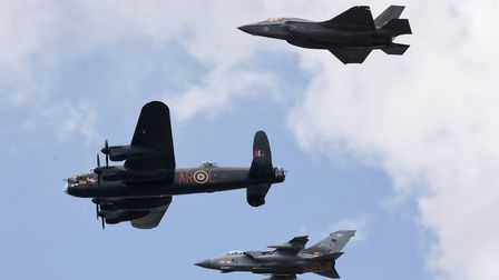 617 Sqn Flypast by Andy Evans