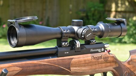 It's modest proportions make it sit well on sporting rifles