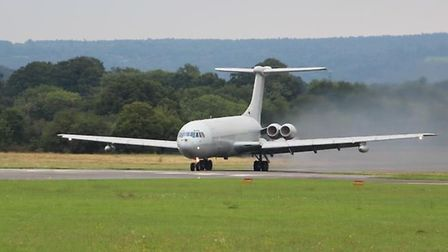 The VC-10 at Brooklands