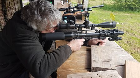 Paul was impressed by the scoped Stealth