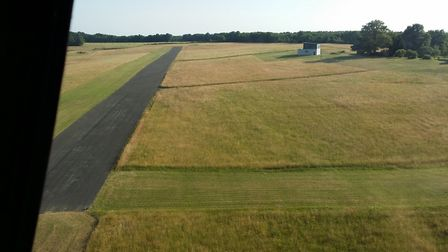 LAND, HANGAR AND HOUSE FOR SALE IN GAJOUBERT, FRANCE