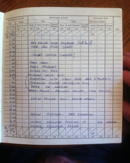 logbook page