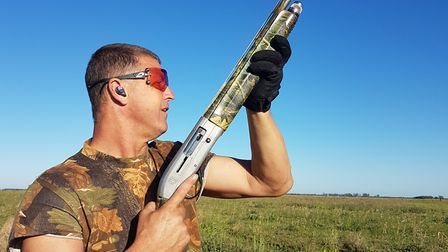 As far as Andy is concerned a semi auto shotgun is both safer and fast... plus, it means your hide c