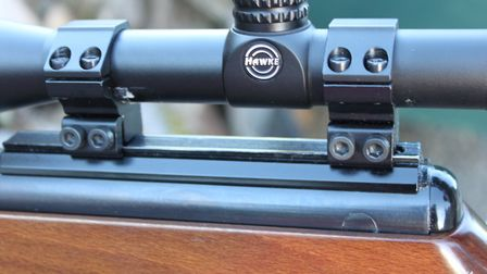 Maxi-grip scope rail best suited to BSA or dedicated Sportsmatch mounts for 13mm rails
