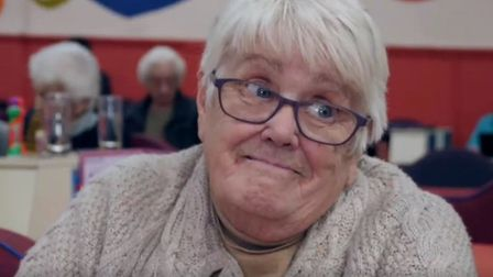 This elderly lady delivered a zinger put down of Brexit. Photograph: Sky News.