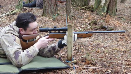 Bisley shooter Chris Pooley is a big fan of the HW98 and shoots it with stunning accuracy