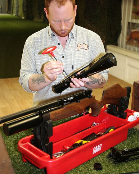 All new kits can be expertly assembled for you at the shop's range.